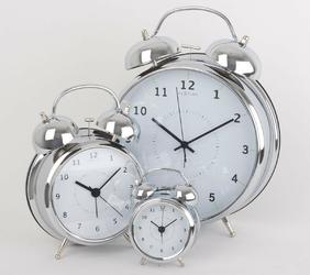 Budzik wake up nextime 23 cm, miedziany 5113 co