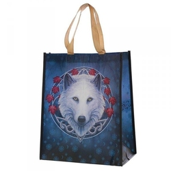 Biały wilk - torebka zakupowa