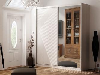 Szafa przesuwna z lustrem 2 drzwiowa maciej ii 180 cm