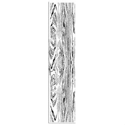 Kauczukowy stempel Stamperia 4x18 cm - deska
