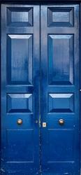 Fototapeta na drzwi drzwi niebieskie 916