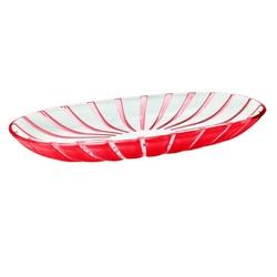 Guzzini - grace - mały półmisek,czerwony - czaerwony