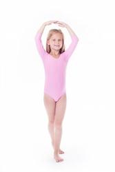 Shepa body gimnastyczne lycra b9 rękaw 34