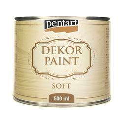 Farba Dekor Paint Soft 500 ml - kość słoniowa - KOŚSŁO