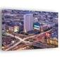 Warszawa centrum - obraz na płótnie wymiar do wyboru: 90x60 cm