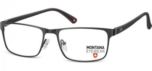 Oprawki prostokątne optyczne montana mm610 czarne