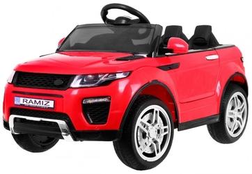 Rapid racer eva czerwony auto dla dziecka na akumulator + pilot