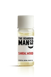 Bearded man co - olejek do brody drzewo sandałowe - sandalwood 2ml