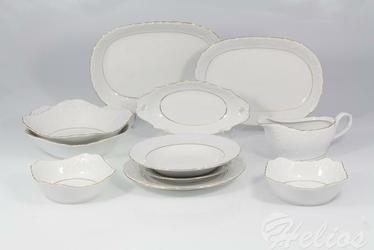 Serwis obiadowy bez wazy dla 12 os. 44 częsci - 3604 ROCOCO
