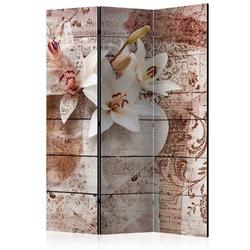 Parawan 3-częściowy - romantyczne wspomnienia room dividers