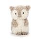 Mała, puszysta sowa, 18 cm, jellycat