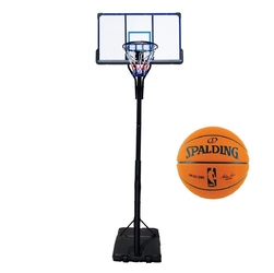 Zestaw kosz do koszykówki przenośny top mobilny + piłka nba game ball