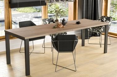 Nowoczesny rozkładany stół garant 130-175 x 80 cm dąb sonoma