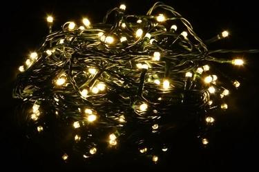 Lampki świąteczne 40 led ciepłe białe
