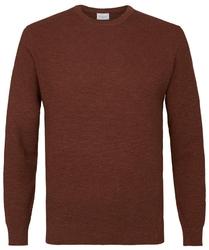 Pullover ze ściągaczem rudy s