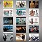 James bond - 23 movie posters - plakat