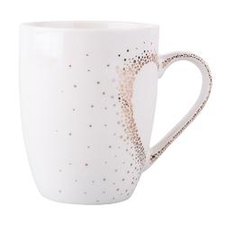 Kubek do kawy i herbaty porcelanowy altom design złote serce 300 ml