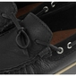 Czarne mokasyny płaskie wsuwane nessi cozabuty