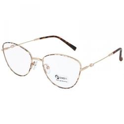 Okulary kocie oczy z filtrem blue light do komputera zerówki 2542-1