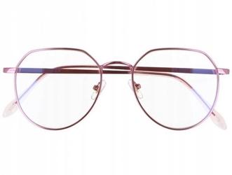 Okulary lenonki z filtrem światła niebieskiego do komputera zerówki 2536-5