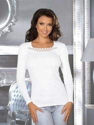 Babell linda biała bluzka damska
