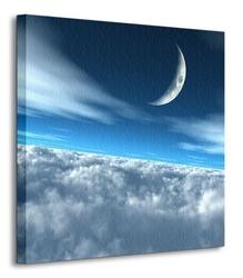 Ponad chmurami - obraz na płótnie