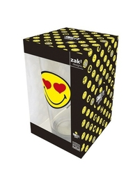 Zak szklanka 300 ml love smiley