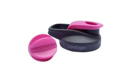 Nakrętka do kubka contigo shake  go fit - neon pink