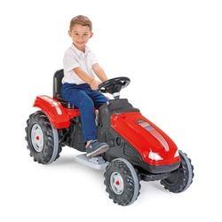 Mega duży traktor na akumulator woopie 12v czerwony