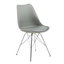 Krzesło eris pp szare - szary