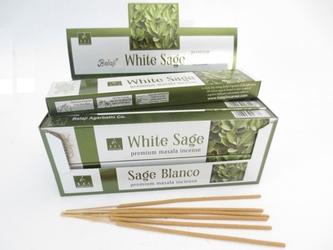 Kadzidełka balaji white sage biała szałwia - 15g