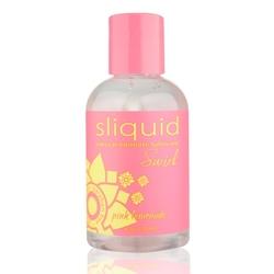Smakowy środek nawilżający - sliquid naturals swirl lubricant 125 ml różowa lemoniada