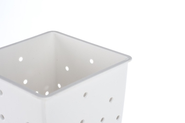Practic plastikowy ociekacz na sztućce biały