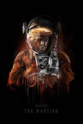 Marsjanin - plakat premium wymiar do wyboru: 50x70 cm