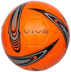 Piłka nożna vivo shape 5 pomarańczowo-czarna