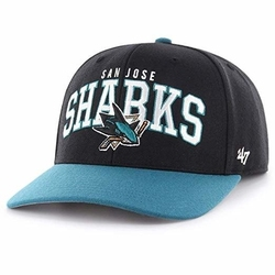 Czapka 47 brand nhl san jose sharks strapback - h-mccaw22wbv-bk-osf