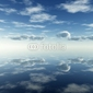 Obraz na płótnie canvas odbicie chmur