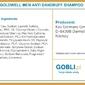 Goldwell dls men anti-dandruff, szampon przeciwłupieżowy dla mężczyzn 300ml