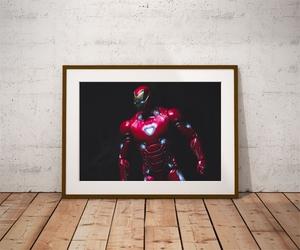 Iron man ver2 - plakat wymiar do wyboru: 100x70 cm