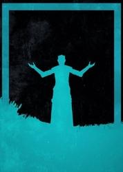Dusk of villains - night king, gra o tron - plakat