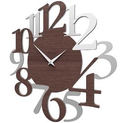 Zegar ścienny russell calleadesign wenge  biały  szary 10-020-89
