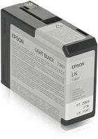 Epson tusz t5807 black light 80 ml do styluspro 3880