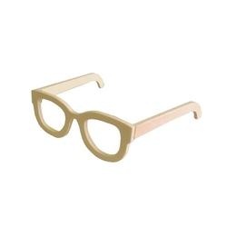 Drewniane okulary do zdobienia - 01 - 02