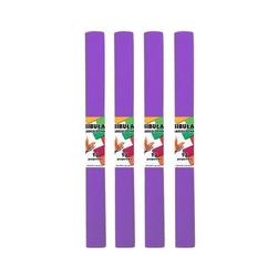 Bibuła marszczona 50x200 cm - purpurowa - ppr