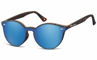 Okulary pełne lustro  okrągłe lenonki lustrzane ms46d