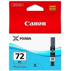Tusz oryginalny canon pgi-72pc 6407b001 błękitny foto - darmowa dostawa w 24h
