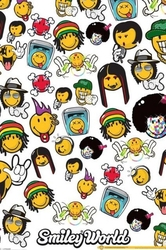Smiley world music genres - plakat