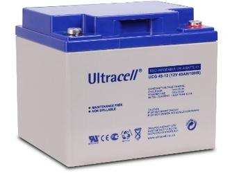 Akumulator agm ultracell ucg 12v 45ah żelowy - możliwość montażu - zadzwoń: 34 333 57 04 - 37 sklepów w całej polsce