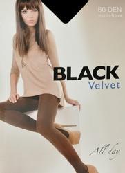 Egeo Black Velvet 60 den 5XL rajstopy