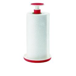 Guzzini - tidy  store - stojak na ręczniki push  block, czerwony - czerwony